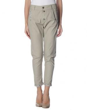 Повседневные брюки BLEIFREI. Цвет: серый