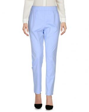 Повседневные брюки ..,MERCI. Цвет: небесно-голубой