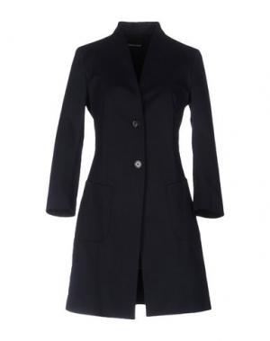 Легкое пальто FABRIZIO LENZI. Цвет: темно-синий