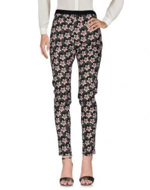 Повседневные брюки EMANUEL UNGARO. Цвет: темно-зеленый