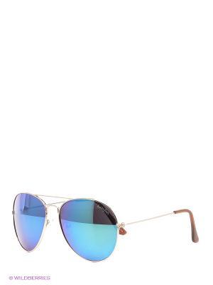 Солнцезащитные очки Funky Fish. Цвет: голубой
