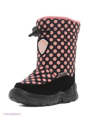 Сапоги Vitacci. Цвет: розовый, черный