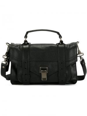 Маленькая сумка-сэтчел  PS1 Proenza Schouler. Цвет: чёрный