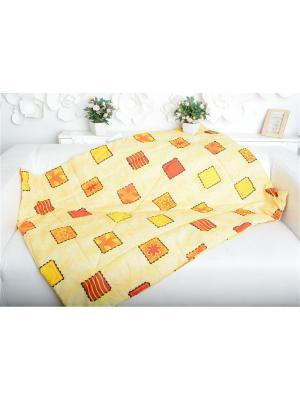 Одеяло детское Печеньки Ням-Ням. Цвет: оранжевый