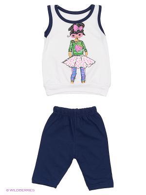 Комплект одежды Babycollection. Цвет: синий