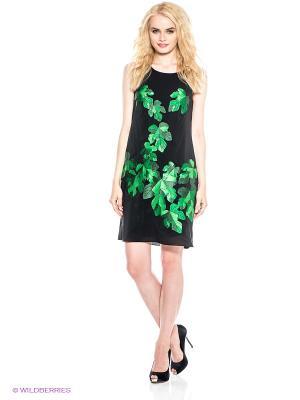 Платье DOCTOR E. Цвет: черный, зеленый