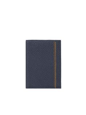Обложка для паспорта FABULA. Цвет: синий