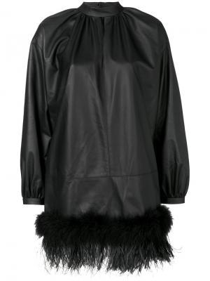 Мини-платье Fausto Puglisi. Цвет: чёрный
