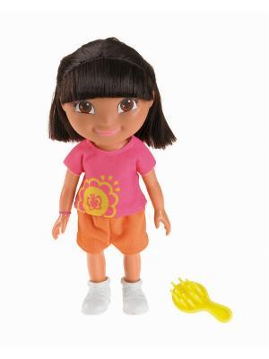 Даша-путешественница  Кукла День рождения Даши Mattel. Цвет: розовый