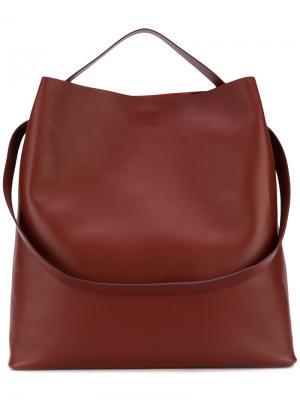 Большая сумка-тоут Aesther Ekme. Цвет: красный