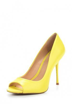 Туфли Crislli. Цвет: желтый