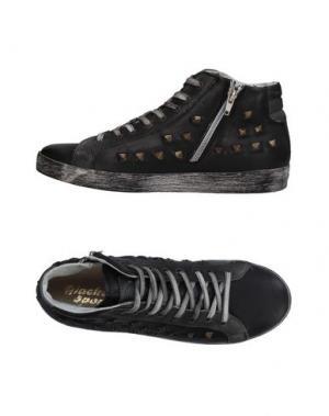 Высокие кеды и кроссовки GIACKO. Цвет: черный