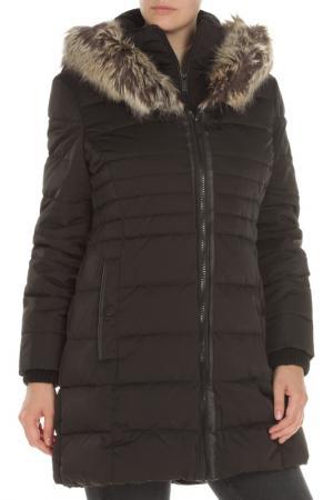 Пальто BCBG. Цвет: 001, black