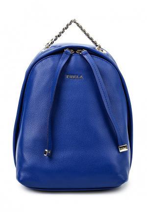 Рюкзак Furla. Цвет: синий