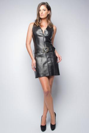 Платье Giorgio. Цвет: черный