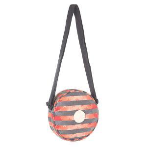 Сумка через плечо  410899 Grey/Red/Orange Converse. Цвет: серый,оранжевый,красный