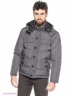 Куртка LERROS. Цвет: темно-серый