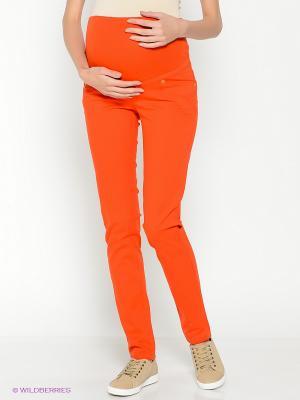 Джинсы EUROMAMA. Цвет: оранжевый