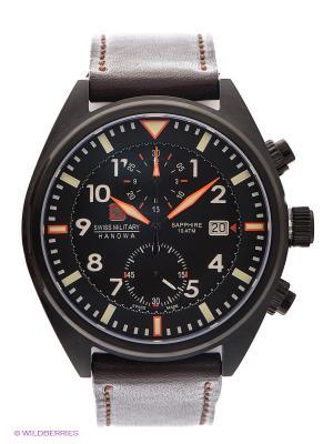 Часы Swiss Military AIRBORNE. Цвет: темно-коричневый