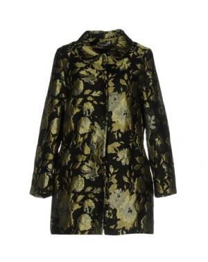 Легкое пальто BIANCOGHIACCIO. Цвет: черный
