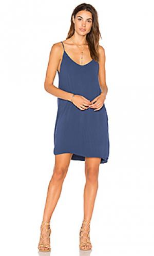 Платье-майка chance Michael Lauren. Цвет: синий