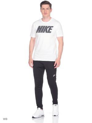 Футболка M NSW TEE PRNT PK BLK Nike. Цвет: белый, антрацитовый
