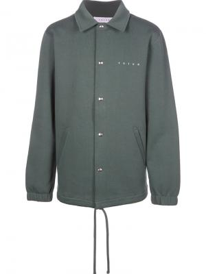 Куртка-рубашка Steady Futur. Цвет: зелёный