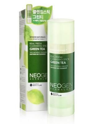 Очищающий стик с зеленым чаем Neogen Dermalogy. Цвет: кремовый