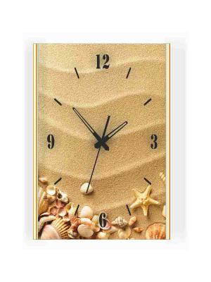 Часы настенные Михаилъ Москвинъ. Цвет: бежевый