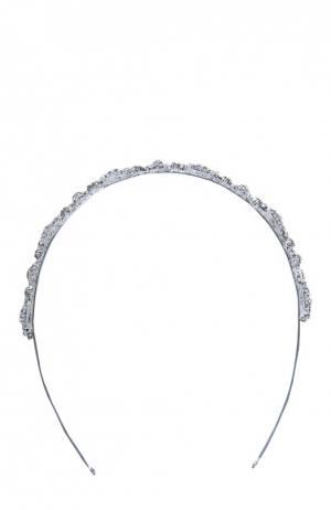 Ободок Ivory & Co.. Цвет: серебряный
