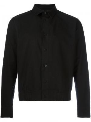 Рубашка с подолом на резинке D.Gnak. Цвет: чёрный