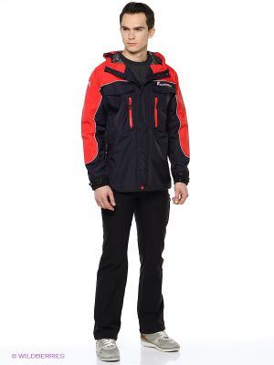 Куртка Коаст PRO Nova tour. Цвет: красный, антрацитовый