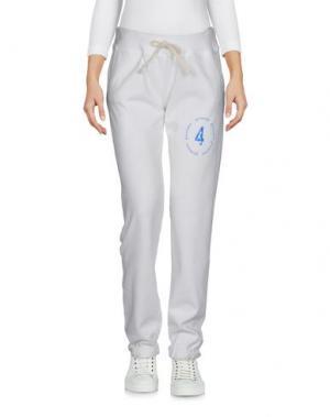 Повседневные брюки 4GIVENESS. Цвет: белый