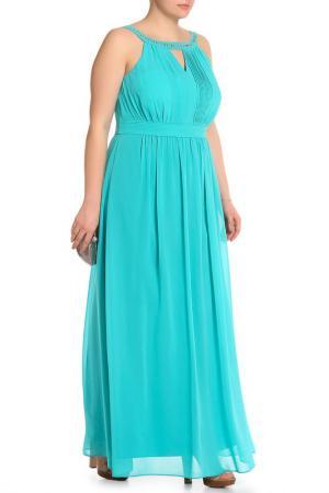 Платье BGN Workshop. Цвет: aqua