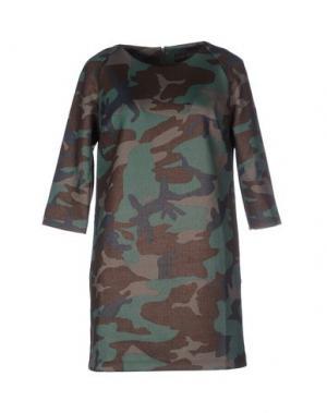 Короткое платье GOOD ON HEELS. Цвет: зеленый
