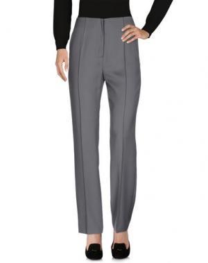 Повседневные брюки FONTANA COUTURE. Цвет: серый