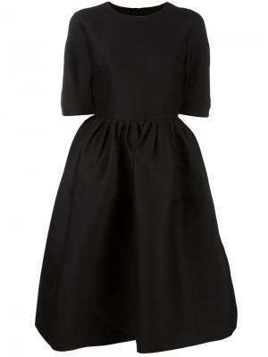 Расклешенное платье Ter Et Bantine. Цвет: чёрный