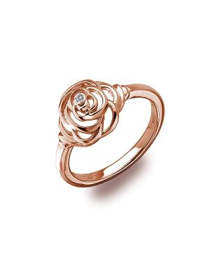 Кольцо HOT DIAMONDS. Цвет: золотистый