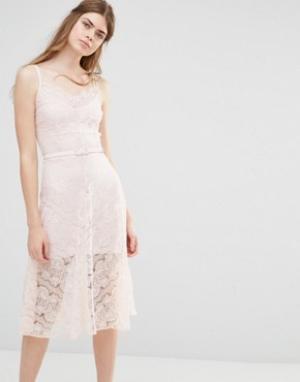 Body Frock Свадебное платье Dahlia. Цвет: розовый
