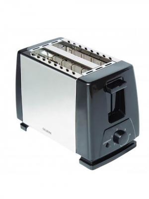 Тостер электрический Gelberk. Цвет: черный, серебристый