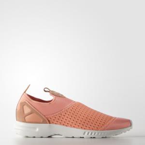 Кроссовки-слипоны ZX Flux ADV Smooth  Originals adidas. Цвет: оранжевый