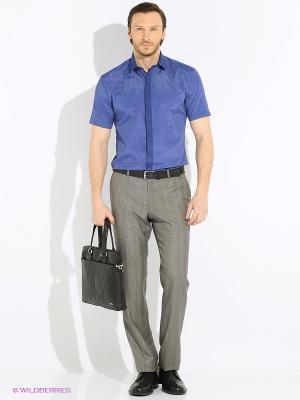 Рубашка Imperator. Цвет: синий