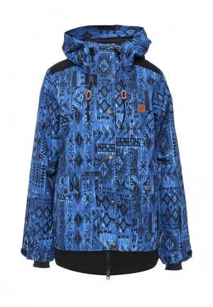 Куртка горнолыжная DC Shoes. Цвет: синий