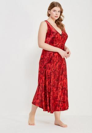 Сорочка ночная Mia-Amore. Цвет: красный