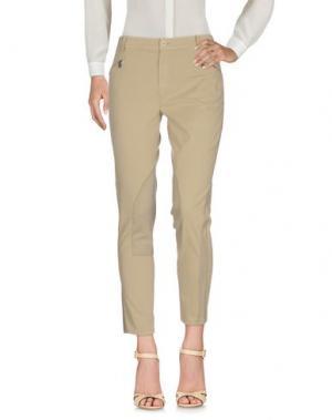 Повседневные брюки ADELE FADO. Цвет: бежевый