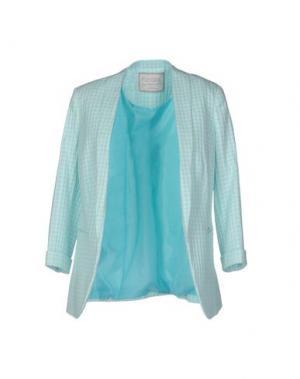Пиджак FLY GIRL. Цвет: небесно-голубой