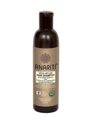 Шампунь против выпадения волос ANARITI. Цвет: коричневый