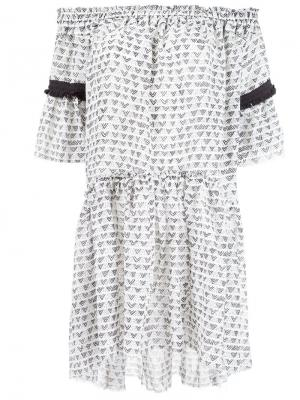 Платье Lula Lemlem. Цвет: белый