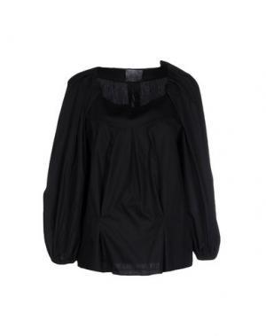 Блузка ALBINO. Цвет: черный
