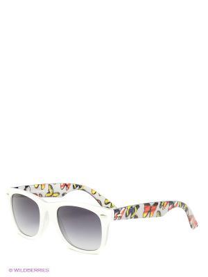 Солнцезащитные очки Franco Sordelli. Цвет: белый, черный, красный